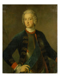 Crown Prince Frederick Ii, 1728 Giclee Print by  Pesne