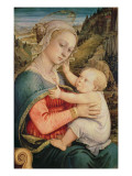 Virgin and Child, C.1465 Giclee Print by Fra Filippo Lippi