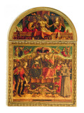 Coronation of the Virgin Giclee Print by Carlo Crivelli