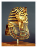 The Funerary Mask of Tutankhamun Reproduction procédé giclée par Egyptian 18th Dynasty
