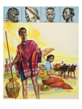 The Malagasy People Giclee Print by Henry Fox
