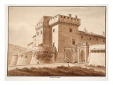 Grotta Ferrata, 1833 Giclee Print by Agostino Tofanelli