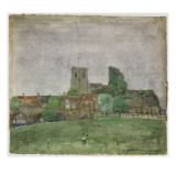 Wareham, Dorset, 1895 Giclee Print by Charles Rennie Mackintosh