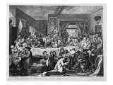 An Election Entertainment, 1755 Giclee Print by William Hogarth