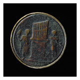 Roman Coin Depicting an Organ Giclee Print by  Roman
