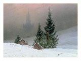 Winter Landscape, C.1811 Giclee Print by Caspar David Friedrich