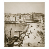 Marseille, 20th October 1887 Giclee Print by  Portuguese Photographer