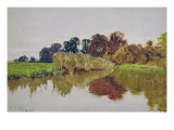 On the Arun, Stoke, Sussex Giclee Print by George Vicat Cole