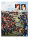 The Battle of Waterloo, 1981 Giclee Print by Clive Uptton