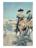 Supply Wagons, 1905 Giclee Print by Newell Convers Wyeth