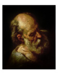 Portrait of an Old Man Giclee Print by Theodore Gericault