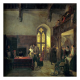 Rent Day at Haddon Hall Giclee Print by John Callcott Horsley