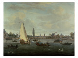 View of Amsterdam Harbour Giclee Print by Abraham Storck