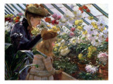 Chrysanthemums, 1890 Giclee Print by Charles Courtney Curran