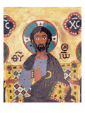 Christ Enthroned Giclee Print by Russian School