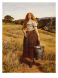 The Farmer's Daughter Giclee Print by John Everett Millais