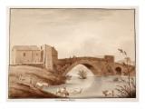 The Ponte Mammolo, 1833 Giclee Print by Agostino Tofanelli
