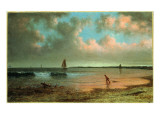New England Coastal Scene Giclee Print by Martin Johnson Heade