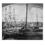 Whaling Port, New Bedford Giclee Print by American Photographer