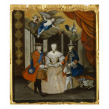 Dresden Peace Allegory, 1745 Giclee Print by  German School