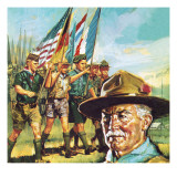 Robert Baden-Powell Giclee Print by  English School