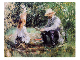 Julie and Eugene Manet, 1883 Giclee Print by Morisot