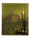 Under the Moonbeams, 1882 Premium Giclee Print by  Grimshaw