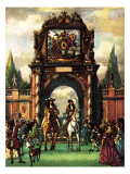 The Reign of the Sun King Giclee Print by John Millar Watt