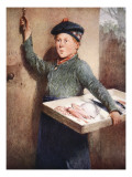The Fishmonger's Call Giclee Print by Henry Benjamin Roberts