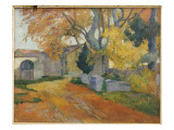 L'Allee Des Alyscamps Giclee Print by Paul Gauguin