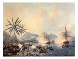 Death of Captain Cook Giclee Print by John the Younger Cleveley