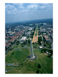 Aerial View of the National Mall Giclee Print