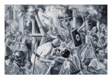 The Destruction of Carthage Giclee Print by Paul Rainer