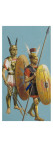 Samnite and Roman Soldiers Giclee Print by Severino Baraldi