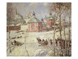 The Kremlin, Moscow under Snow Giclee Print by Frederick William Jackson