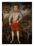 Portrait of a Boy Giclee Print by Robert Peake
