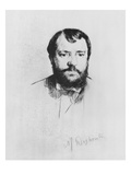 Ernest Hoschede, 1875 Giclee Print by Marcellin Gilbert Desboutin