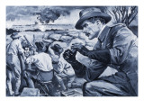 Robert Baden-Powell Giclee Print by Paul Rainer