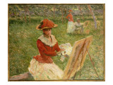 Blanche Hoschede Painting, 1892 Giclee Print by Claude Monet