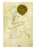 Seated Nude Woman, 1914 Giclee Print by Schiele