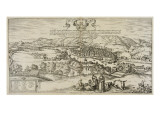 View of Bilbao, 1576 Giclee Print by Joris Hoefnagel
