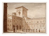 The Church of San Marco, 1833 Giclee Print by Agostino Tofanelli