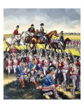 The Duke of Wellington Giclee Print by Ron Embleton