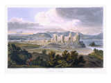 Conwy Castle, 1820 Giclee Print by T. Gandy