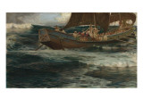 Wrath of the Sea God Giclee Print by Herbert James Draper