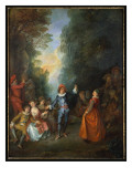 Fete Champetre Giclee Print by Nicolas Lancret