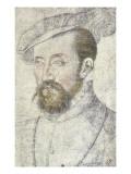 Antoine De Bourbon C.1560 Giclee Print by Francois Clouet