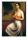 Oranges and Lemons Giclee Print by Julio Romero de Torres