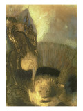 St. George, C.1905 Giclee Print by Odilon Redon
