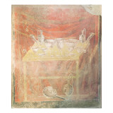 Silverware on a Table Giclee Print by  Roman